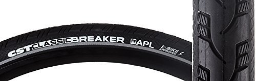 CST Classic Breaker Bike Tire 26X1-3/8 Black by Cst Premium [並行輸入品] B078XF6VPW