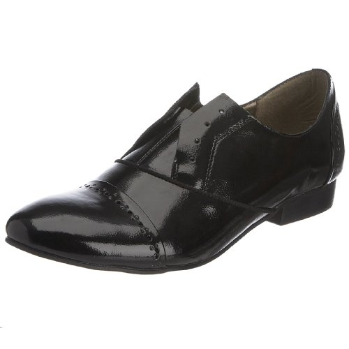 French Brogue Nero Connection Diamante Donna Fwq0FrvX
