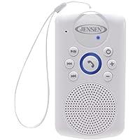 Jensen Smps-640 Smps-640 Water-Resistant Shower Bluetooth(R) Hands-Free Speaker