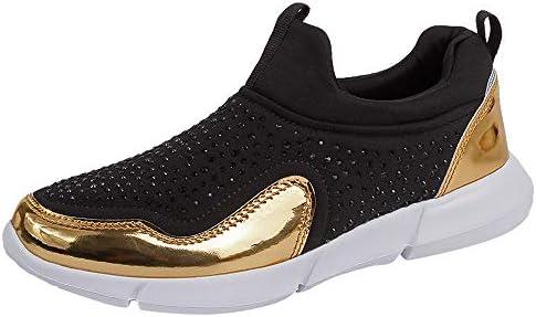LILICAT☃ Malla de Diamantes de imitación Zapatos Deportivos Casuales Zapatillas con Fondo Blando 36-42 Mujeres Zapatillas de Deporte con Diamantes de ...