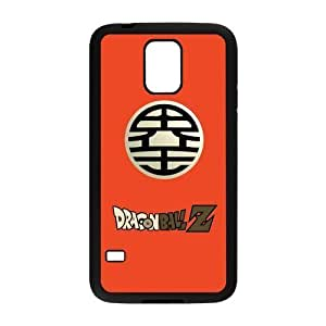 Anime Series, Dragon Ball Black / White Design PC Snap On For Case Samsung Galaxy S5 Cover