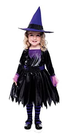 Itsy Bitsy Spider Witch Toddler With Hat Costume, 2T