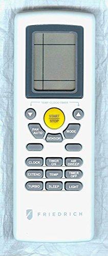 Friedrich YT1FF P69700313 AC Remote Control