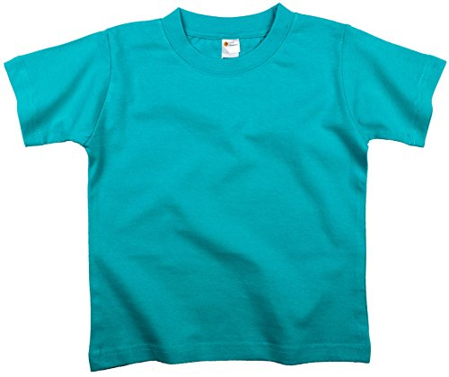 (Earth Elements Little Girls' Short Sleeve T-Shirt 6T Aqua)