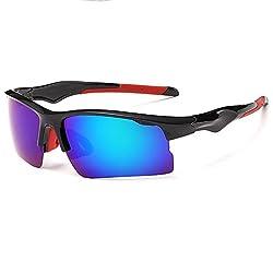 HelloKiti Unisex New Outdoor Cycling Polarized Sunglasses(C3)