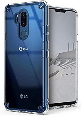 Ringke Funda LG G7 ThinQ, [Fusion] Claro PC TPU Back [Anti-Cling ...
