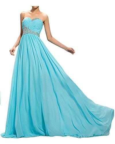 Jugendweihe Kleider mia Pailletten Abendkleider Lang Gruen Mit Elegant Perlen La Ballkleider Braut Blau Abschlussballkleider 18z4gAq
