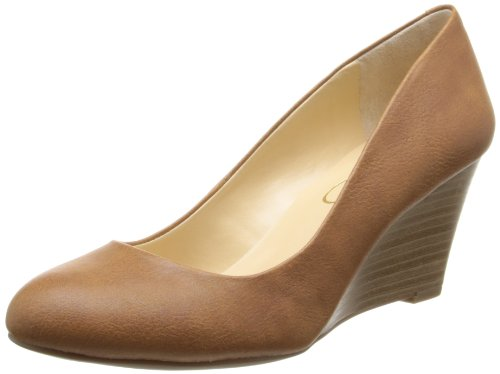 Jessica Simpson Women's Js-Sampson, Almond, 8.5 M US (Heels Stretch Jessica)