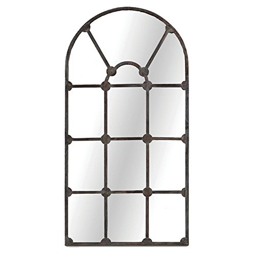 Gabby Home Drake Aged Iron 35-Inch Mirror ()