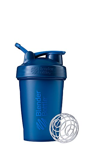 BlenderBottle Classic Loop Top Shaker Bottle, 20-Ounce, Navy/Navy