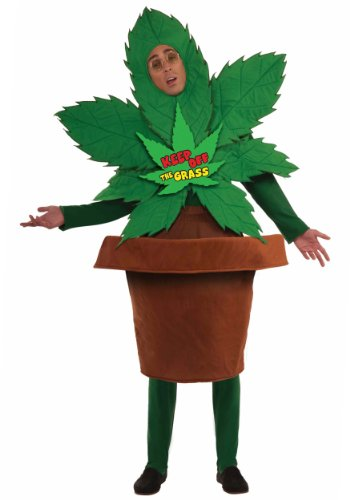 (Forum Novelties Men's Keep Off The Grass Funny Adult Costume, Multicolor,)