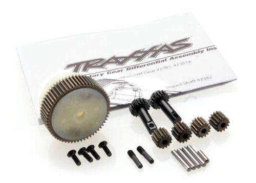 Traxxas Rustler Parts (Traxxas 2388X Complete Planetary Gear Differential with Steel Ring Gear)