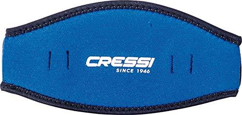 Cressi Neoprene Mask Strap Cover, blue