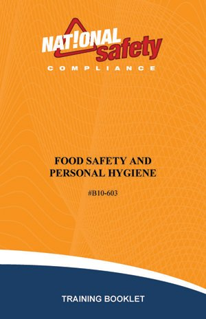 Food Safety & Personal Hygiene Training Booklets (pkg of 10) -