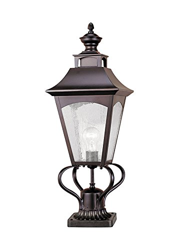 Feiss OL1007ORB 1-Bulb Outdoor Wall Lantern, Oil Rubbed Bronze Finish
