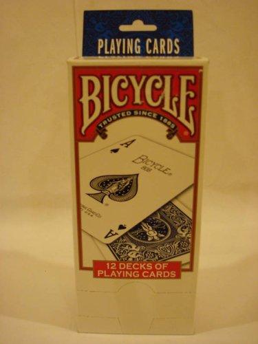 - 12 Decks of Bicycle Poker Playing Cards, Regular Index