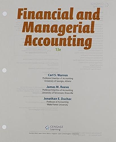 amazon com financial managerial accounting 9781285868776 carl rh amazon com