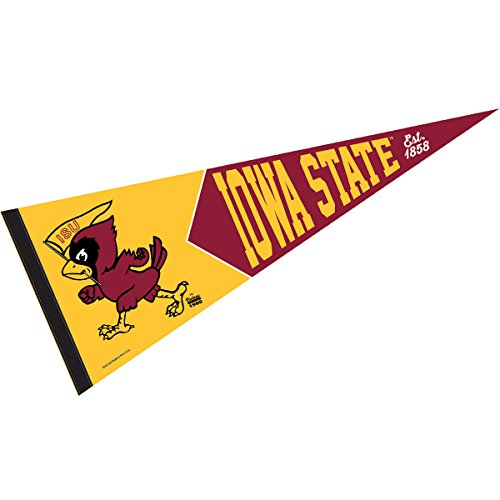 Iowa State Cyclones Retro Vintage and Throwback Pennant