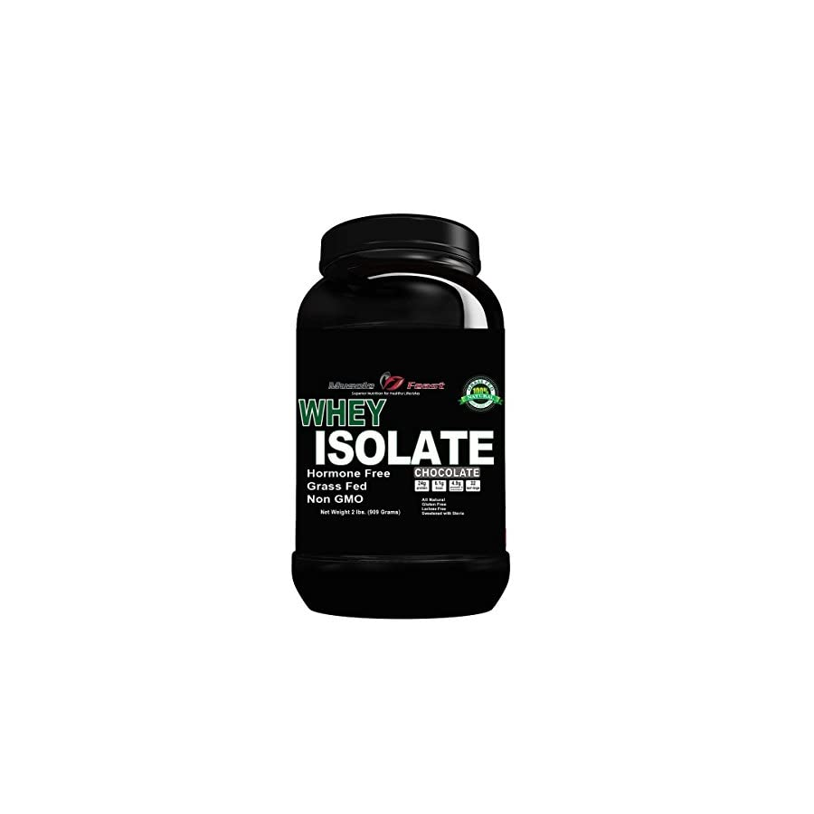 Hormone Free Unflavored Whey Protein Isolate