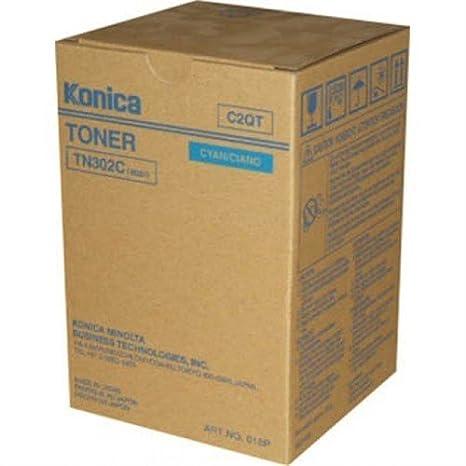 Amazon.com: Konica Minolta TN-302 C Toner Cartridge – Cyan ...