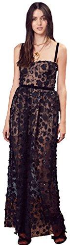For Love & Lemons Beatrice Strappy Maxi Dress In Black, XS by For Love & Lemons