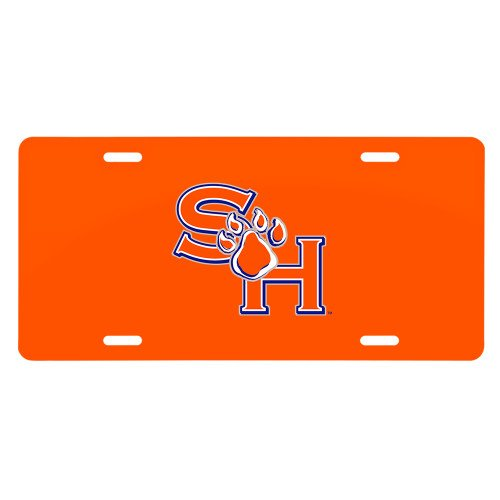 SHSU License Plate 'SH Paw Official Logo' by CollegeFanGear
