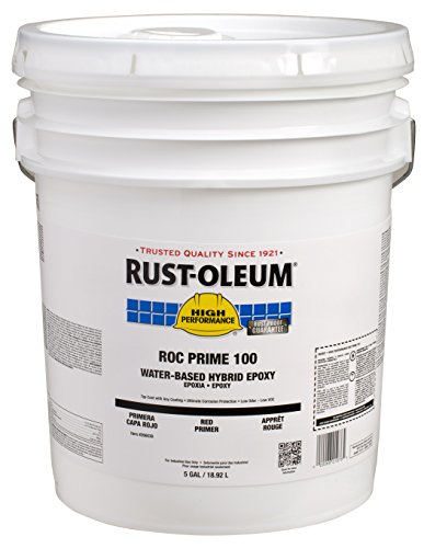 Rust-Oleum 266039 Primer High Performance ROC-Prime 100 Hybrid Epoxy Primer, 5-Gallon, Red by Rust-Oleum