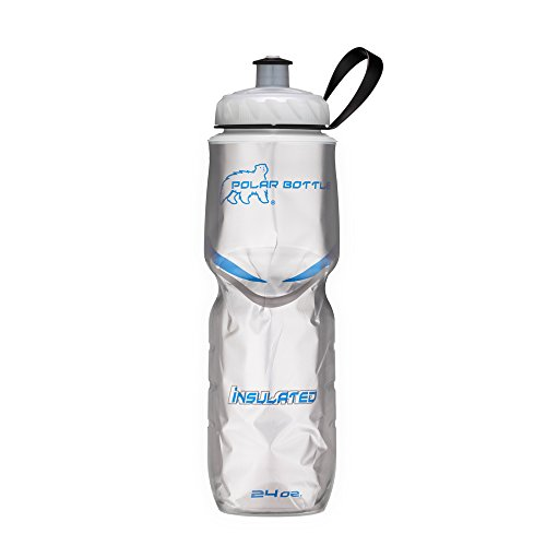 Polar Bottle Insulated Water Bottle (24-Ounce) (Platinum)