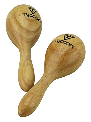 Tycoon Percussion TMW-M Mini Wooden Maracas ()