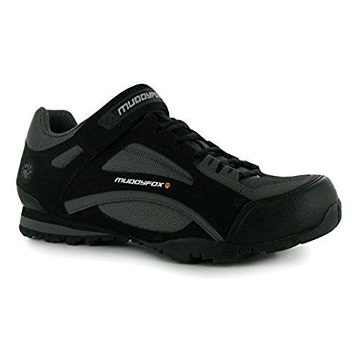 Vlo De Sport Baskets 100 Hommes Noir Tour Anthracite Basse Pour Chaussures Muddyfox Intgrales Lacets E5wqPW