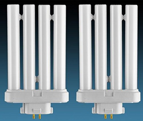 Dysmio Lighting FML27/65 27 Quad Tube Compact Fluorescent Light Bulb (2-Pack)