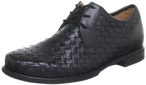 Ganter Greg, Weite G Lace-Ups Mens Black Schwarz (schwarz 0100) Size: 7.5 (41 EU)