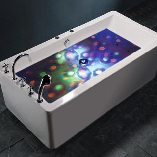SENSORY BATH DISCO LIGHT UNDER WATER LIGHT SHOW SENSORY AUTISM SPECIAL NEEDS