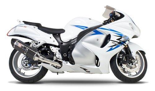 Suzuki Gsxr1000 Carbon Yoshimura Race - 09-11 SUZUKI GSXR1000: Yoshimura R-77 Slip-On Exhaust (Race/Carbon Fiber With Carbon Fiber End Cap)