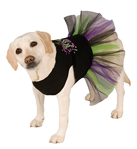 Rubie's Wickedly Cute Tutu Dress Pet Costume, (Ballerina Dog Costumes)