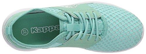 Turchese Donna Da Bianco Sneakers Basse menta Kappa WqInUFScH