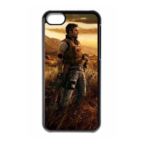 W6P81 far cry V4J1FB iPhone 5c Handy-Fall Hülle schwarz DL2OXK5DG decken