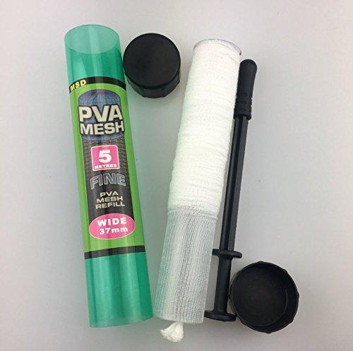 Epessa PVA Fishing Mesh Universal Refill Stocking Bait Bags-Tubular