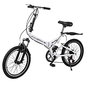 Amazon.com: OUTAD Bicicleta Plegable, 20.0 in Hombres y ...