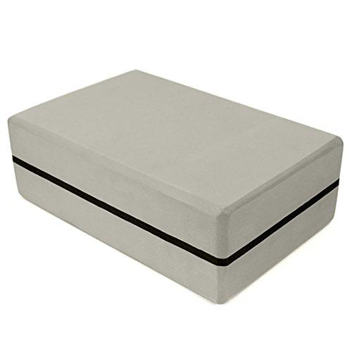 Yoga Block, YAOEGE EVA High Density Comfortable Foam Yoga Blocks Exercise Fitness Bricks, Eco-friendly and Lightweight