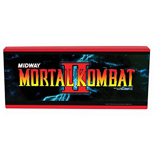 Mortal Kombat Marquee Light (Arcade Machine Mortal Kombat)