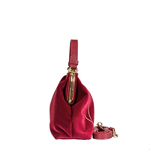 Roberta Di Camerino Borsa A Mano Donna RC050608 Velluto Rosso