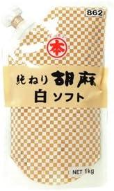 竹本油脂 ねりごま 白 ソフトパウチ 1kg