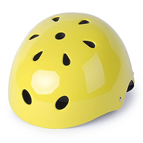 Zjoygoo 2018 Design Bicycle Cycling Street Kids Safety Yellow Bike Helmets Protective Gear for Toddler Child Children,Outdoor Sports Satety Firm Kids Helmet for Boys Girls Student Pupil Age 3-5 5-8 For Sale