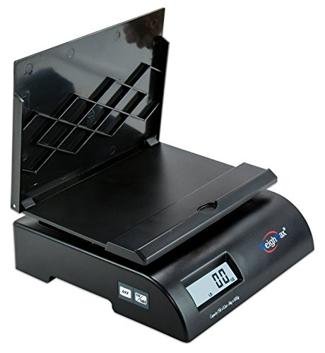Postage Meter (Weighmax 2822-75LB postal shipping scale, Battery and AC Adapter Included)