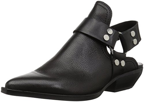 - Dolce Vita Women's Urban Ankle Boot, Black Leather, 6 M US