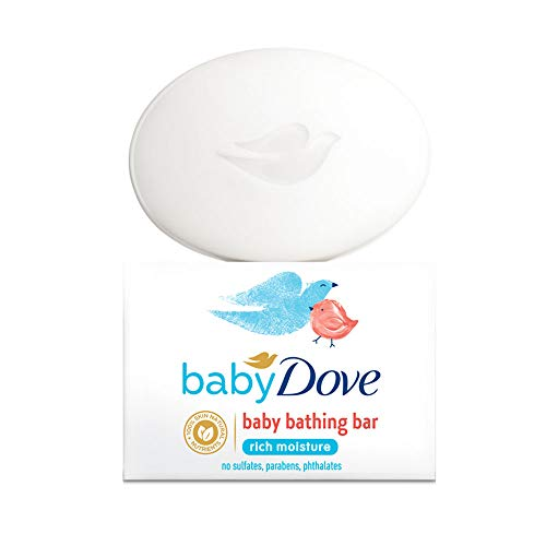 Baby Dove Rich Moisture Bar 75g Pack of 3 Total 225g