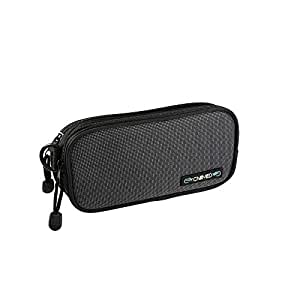 ChillMED Carry-All Diabetic Belt Bag Insulin and Supply Organizer Designed for Travel, Hiking, Walks, and Other Activities That Require Medication and Prescription Protection (Gray)