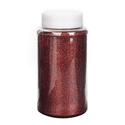 Efavormart 1 Pound Burgundy DIY Art & Craft Glitter Extra Fine with Shaker Bottle for Wedding Party Event Table Centerpieces