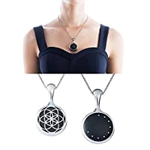 ABC® Sleep Fitness Monitor For Misfit Shine Necklace Stainless Steel Pendant